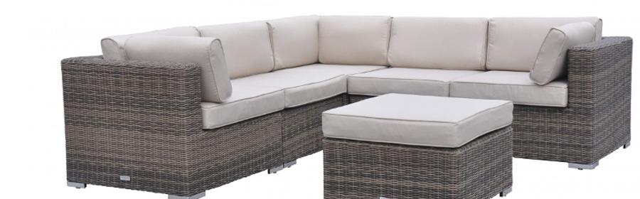 Outdoor Rattan Corner Sofa