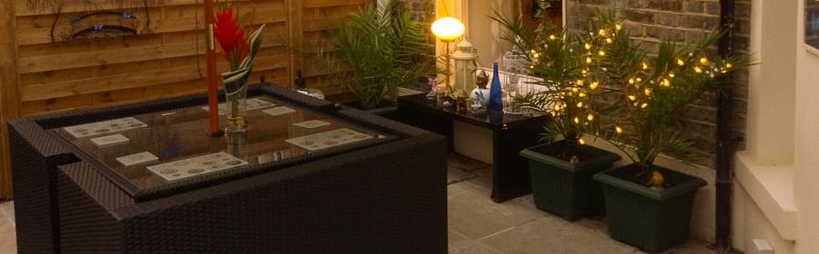 Rattan Garden Cube Sets
