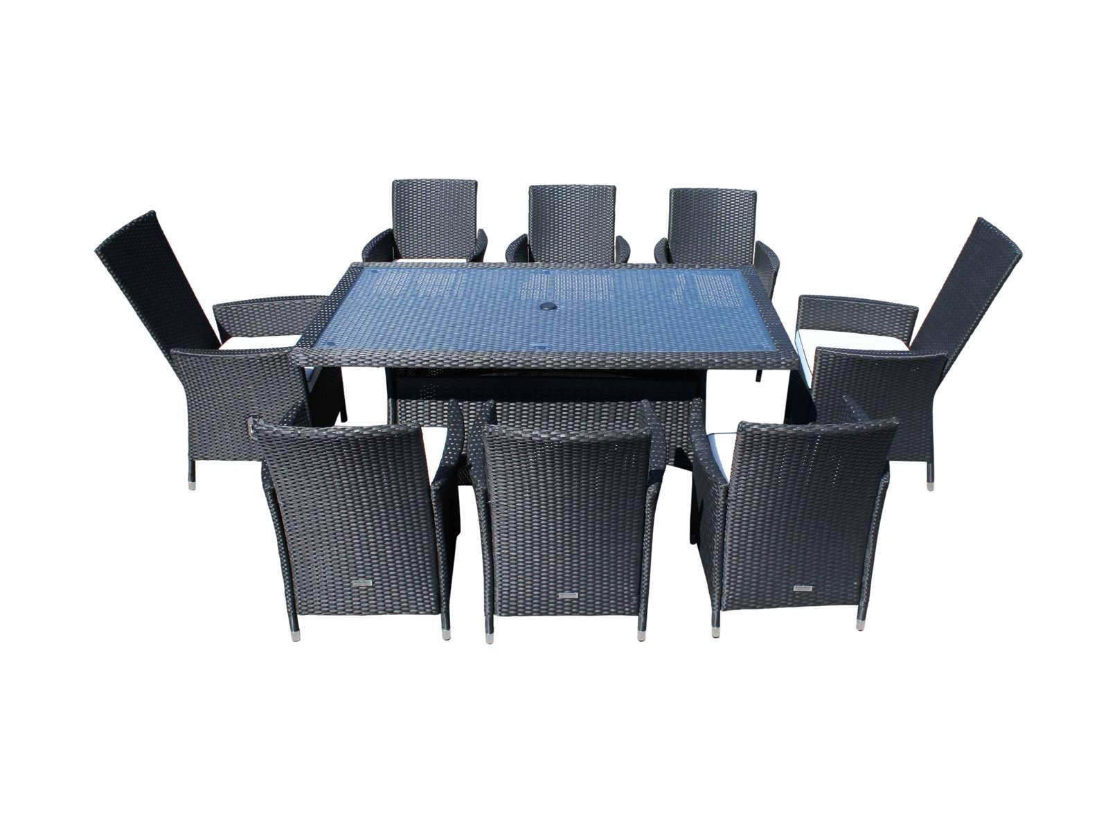 Cambridge Rectangular Table Set 2 Reclining Chairs 4 Non Reclining Bed Mattress Sale