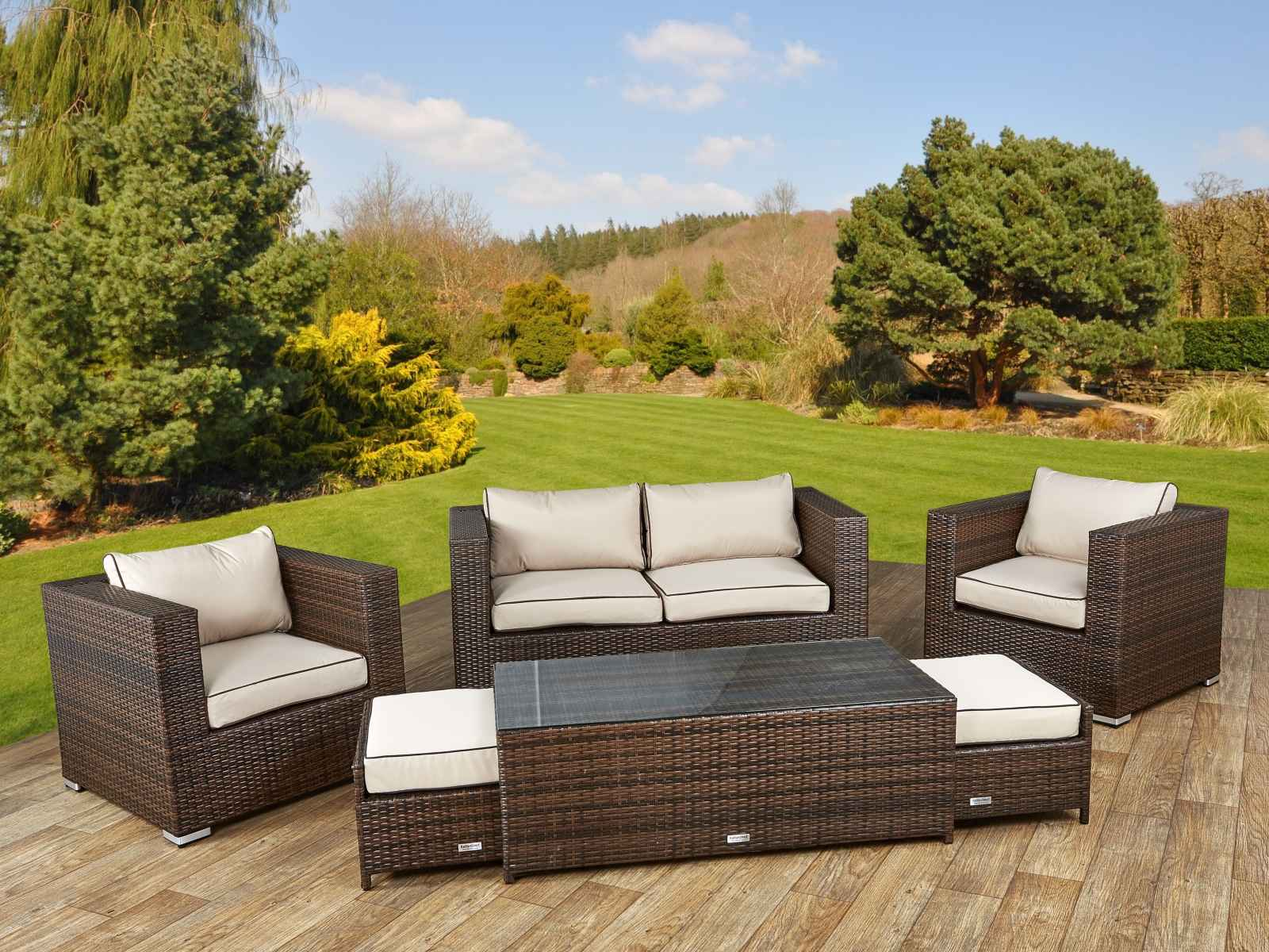 Rattan Furniture Outdoor Wicker Sets Photo 12 Share. Wicker Garden Sofas Uk   Modern Sofas