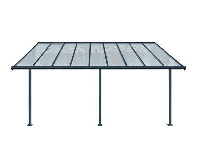 Palram Sierra Patio Cover 3x5.46 Metre in Grey