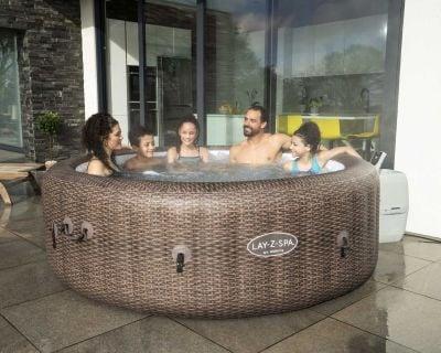 St Moritz Airjet Hot Tub