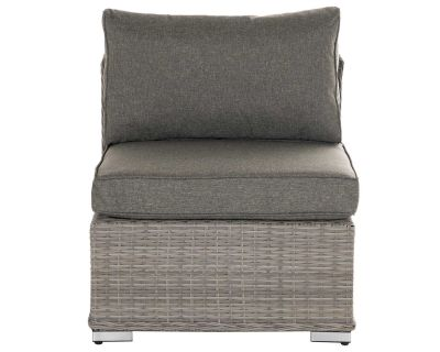 Florida Rattan Garden Mid Section in Grey