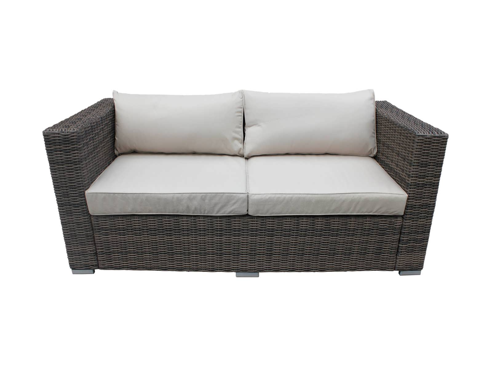 2 seater rattan sofa. Black Bedroom Furniture Sets. Home Design Ideas