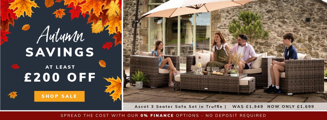 Autumn Savings at least £200 off