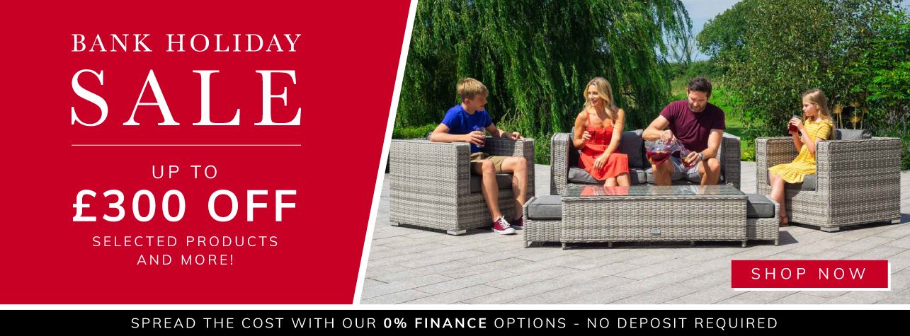 Bank Holliday Sale up to £300 off!