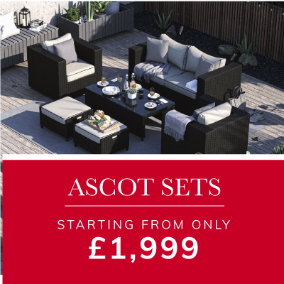 Ascot Sets from only £1,999 Shop Sale