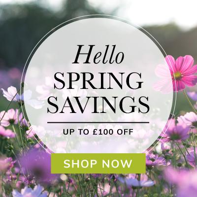 Hello Spring Savings!