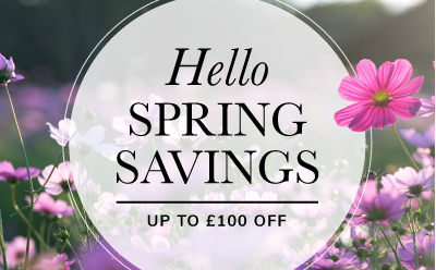 Hello Spring Savings!