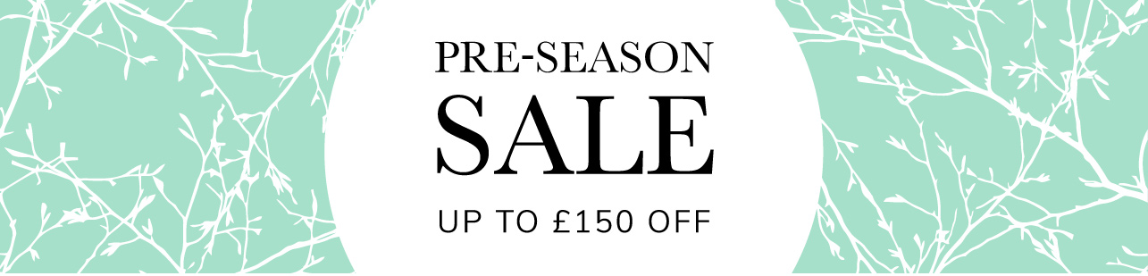 Pre-Season Sale up to £100 off