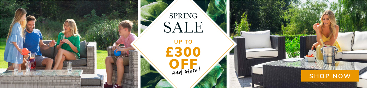 Spring Sale up to £300 off