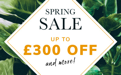 Spring Sale up to £400 off and more