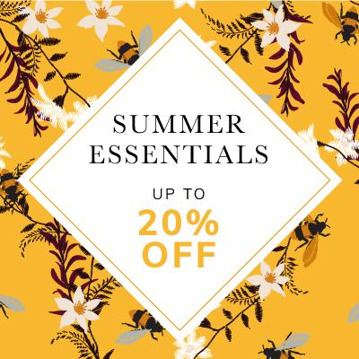 Summer Essentials up to 20% off