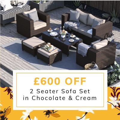 £600 off Ascot 2 seater sofa set