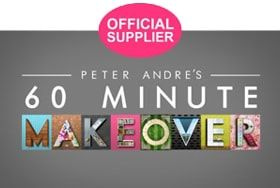 Official Supplier of 60 Minute Makeover