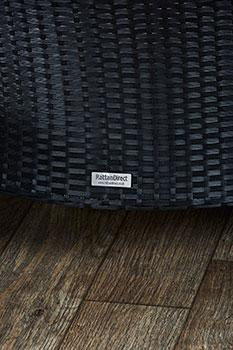 black rattan furniture