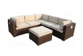 Buy Rattan Corner Sofas