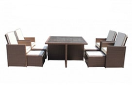 Buy Rattan Cube Sets