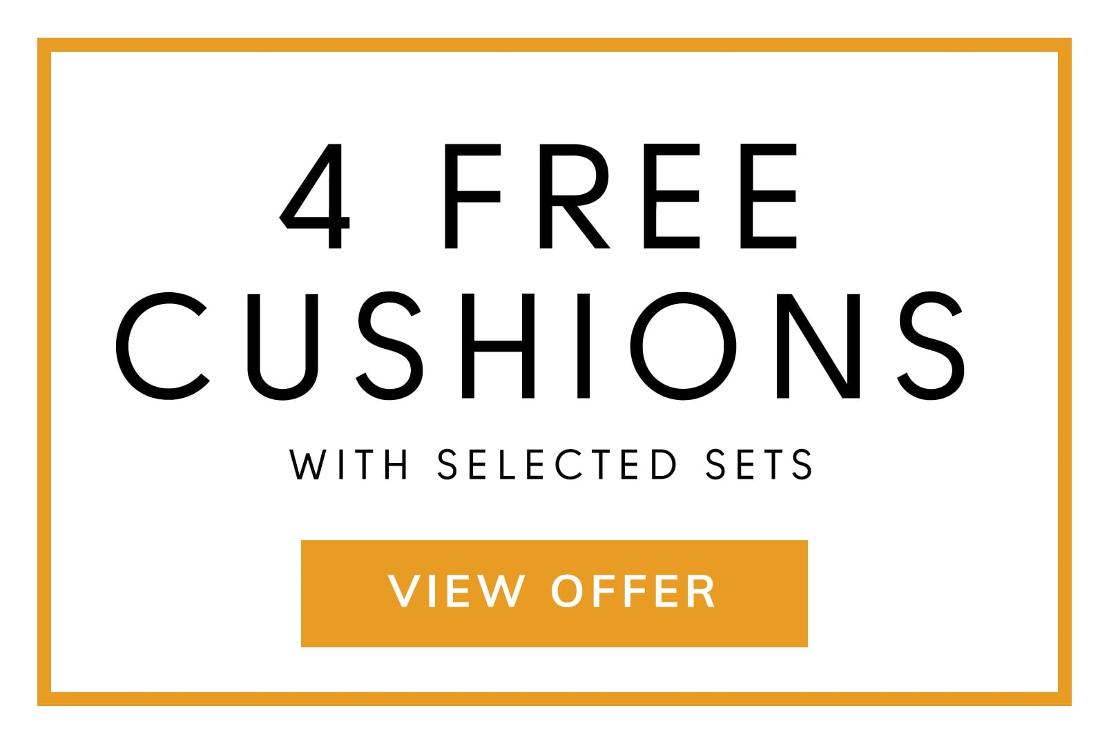 4 FREE Scatter Cushions