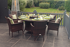 6% Off Chocolate Mix Dining Sets