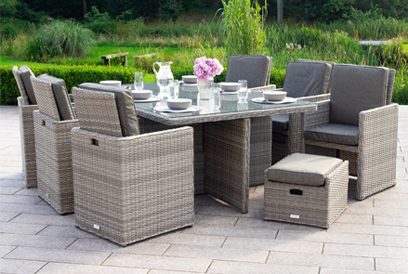 Astounding Rattan Garden Furniture Sets Outdoor Patio Furniture Home Interior And Landscaping Synyenasavecom