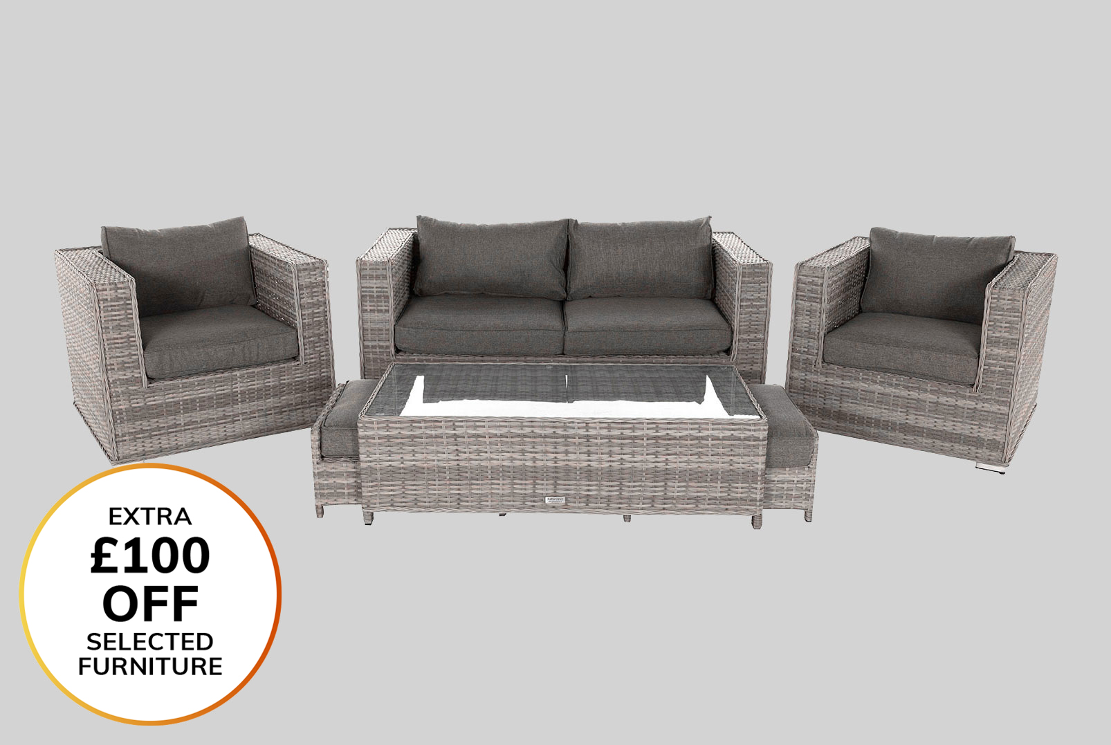 8f73647f9841 Rattan Garden Furniture Sets - Outdoor Patio Furniture ...