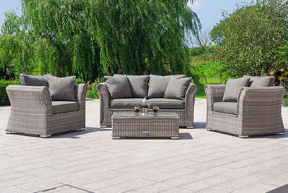 Wondrous Rattan Garden Furniture Sets Outdoor Patio Furniture Home Interior And Landscaping Synyenasavecom