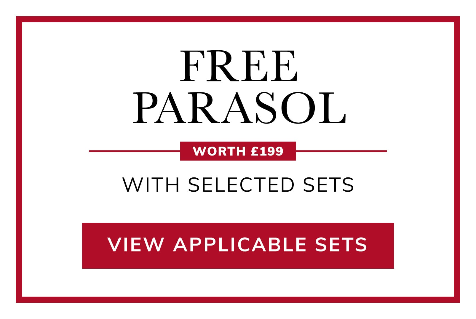 Free Market Parasol
