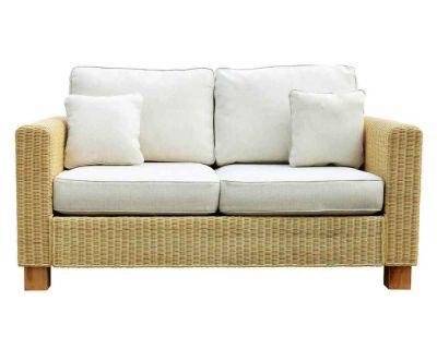 Kensington Wicker Rattan Large 2 Seat Sofa