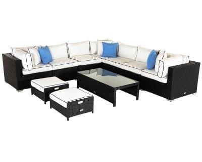 Geneva 6 corner sofa set