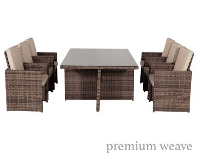 Babarcelona 5 Piece Cube Set In Truffle And Champagne