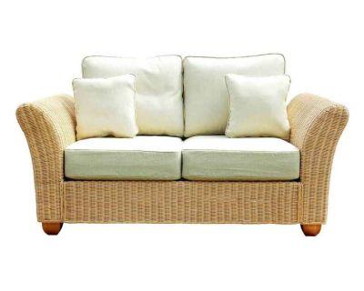 Kingston Wicker Med 2 Seat Sofa Oatmeal