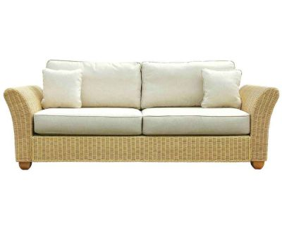 Kingston Wicker Rattan 3 Seat Sofa