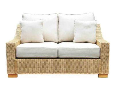 Regal Wicker Med 2 Seat Sofa Oatmeal0Final