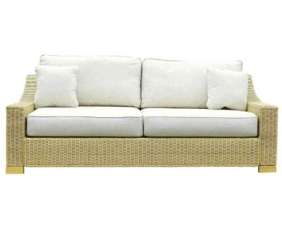Regal Wicker  Seat Sofa Oatmeal0Final