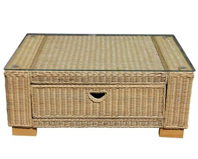 Regal Wicker Rattan Coffee Table