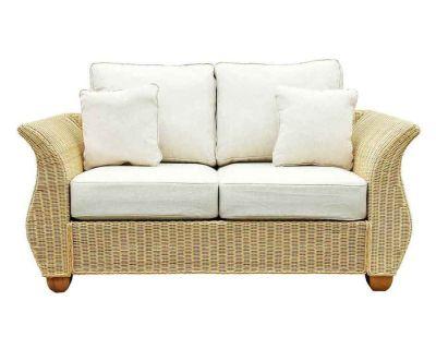 Chelsea Wicker Rattan Med 2 Seat Sofa