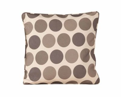Premium Scatter Cushion in Biscuit Circle
