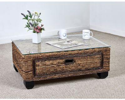 Kensington Abaca Rattan Coffee Table