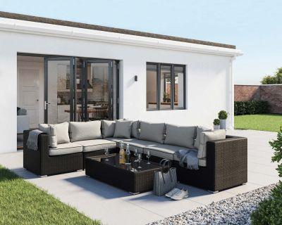 Geneva 3 corner sofa set