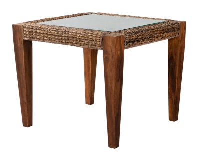 Milan Abaca Rattan Small Dining Table
