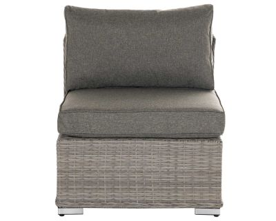 Rattan Florida mis section grey