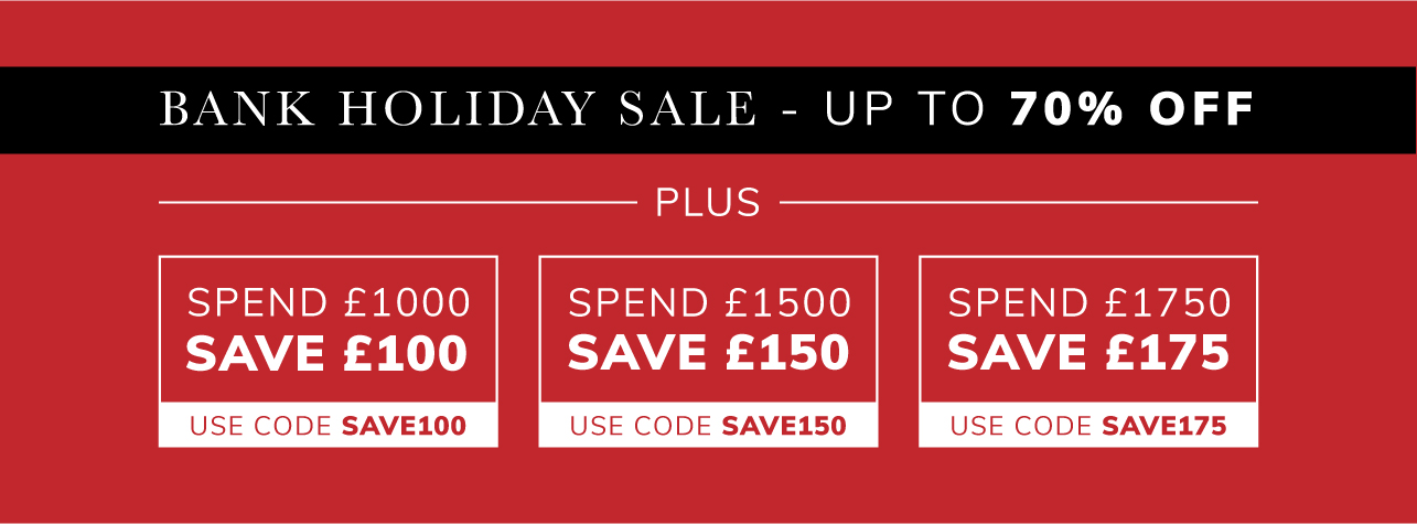 Bank Holiday Sale up to 70% off