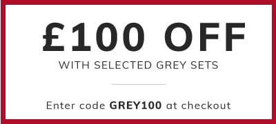 Extra £100 off selected grey furniture