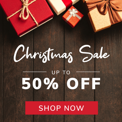 Christmas Sale up to 50% off selected items