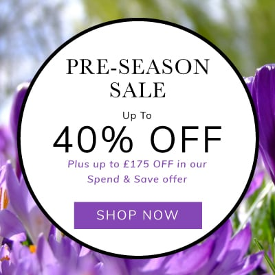 Pre-Season Sale up to 40% off plus an extra 10% off dining sets
