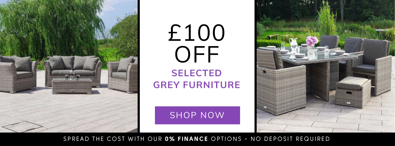 £100 off selected grey furniture