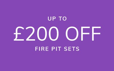 Up to £400 off all fire pits
