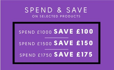 Spend & Save up to £175