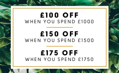 Save up to £150 in our spend and save offer